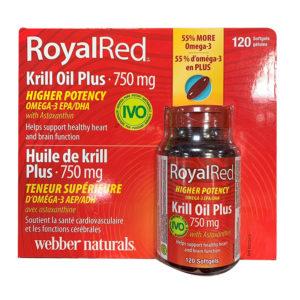 維柏健 – RoyalRed 高效磷蝦油
