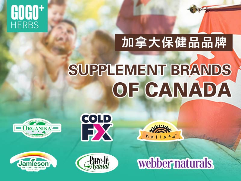 Supplement brands of Canada